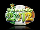 St Pats Day Oval Graphic 2012 b