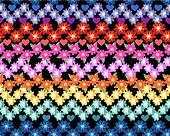 Little Rainbow flower print