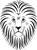 Lion Face 01