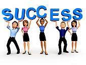 3D Business success