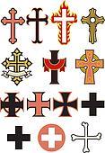 Set of 14 Cross Vectors