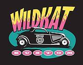 Wildkat Kuston hot rod design