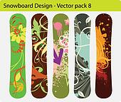 snowboard design pack 8