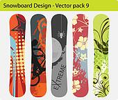 snowboard design pack 9