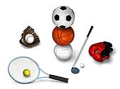 Many sports elements