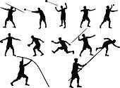 athletics vectors