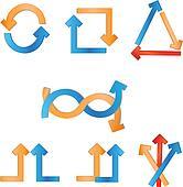 arrow vector illustrations