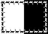 Vector Cats frame.