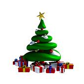 3D - Christmas tree