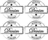 Denim Seals (Stamps)