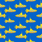 Submarine seamless pattern.