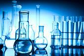 Biochemistry Laboratory and glass