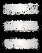 Gray grunge frames