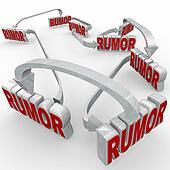 Rumor Connected 3d Words Arrows Spreading Misinformation Unconfi