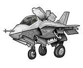 USMC F-35B Lighting II JSF Jet
