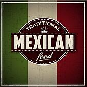 Traditional Mexican Food grunge Ban