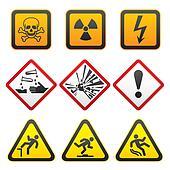 Warning symbols - Hazard Signs