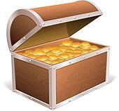 Treasure chest.