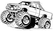 4x4 Truck Jump