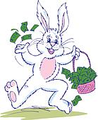 Easter Bunny Cash