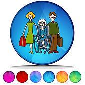 Moving Senior To Nursing Home Mosaic Crystal