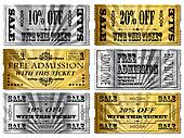 Gold and Silver tickets