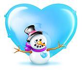 Snowman Love - Boy