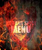hot and spicy menu