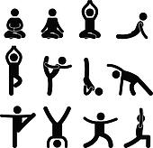 Stretching Clip Art - Royalty Free - GoGraph