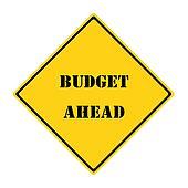 Budget Ahead Sign