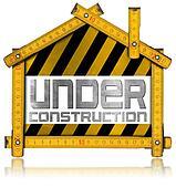 Under Construction - House Project Concept
