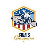 American Football Running Back Finals Champions