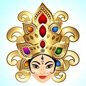 Shubh Navratri Background