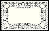 Lace Doily Placemat
