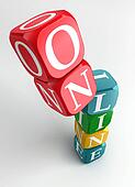 online 3d colorful cube tower