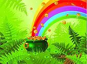 Saint Patrick Day Background