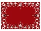 Lace Doily Place Mat