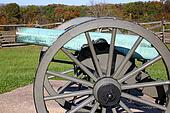 blue canon at gettysburg