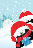 Penguins' Xmas Gift
