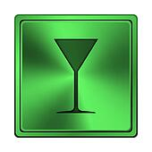 Martini glass icon