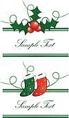 borders horizontal from Christmas s