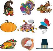 Thanksgiving Icons 1