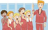 Cheering Kids