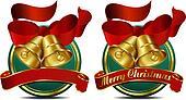 Christmas Bells Green Web Banner