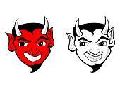 Devil / Satan clip art