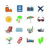 Holidays journey design elements