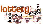 Lottery word cloud