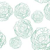 cabbage pattern