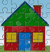 House mortgage symbol