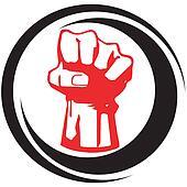 fist - symbol of the struggle